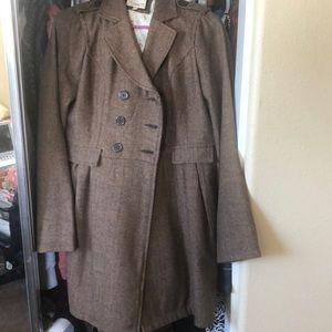 Jackets & Blazers - 2/$8- Long brown coat